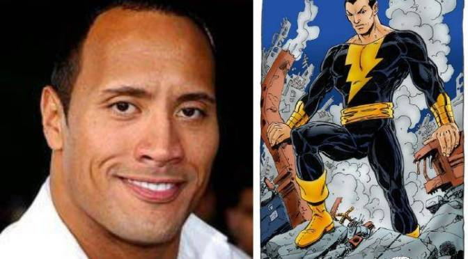 Dwanye Johnson to Play Black Adam